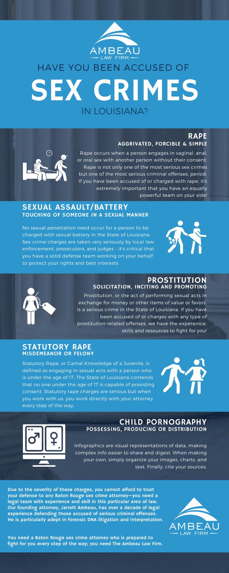 Sex Crimes Louisiana