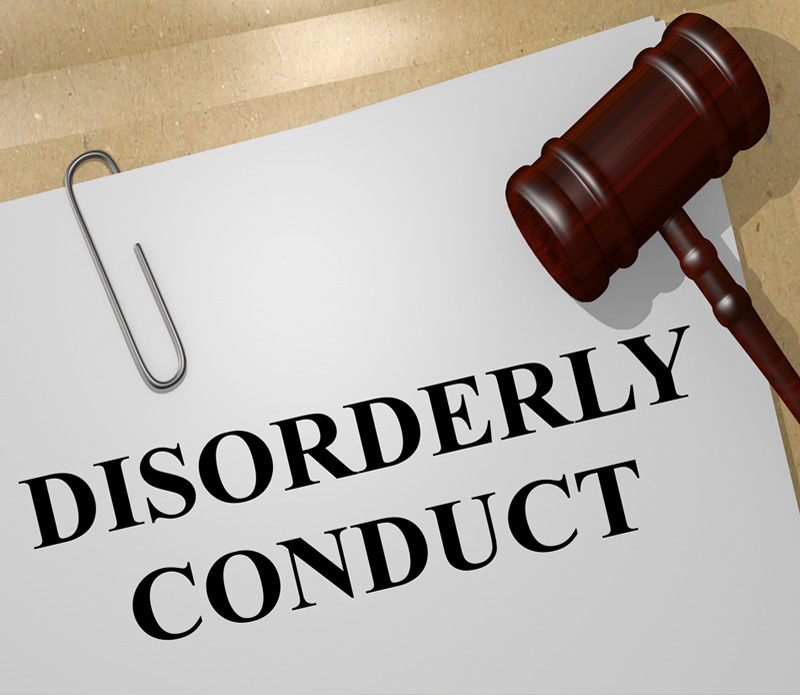 Disorderly Conduct - Law Firm