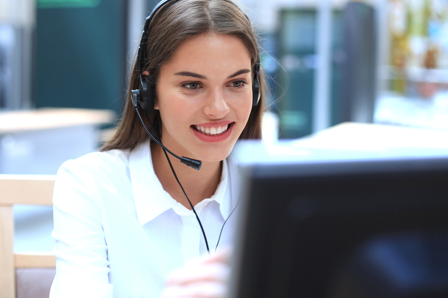 Bigstock female customer support operat 268060690