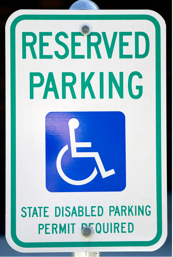 Bigstock handicapped parking 852660