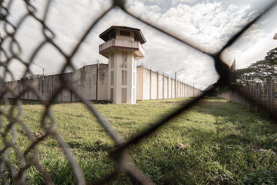 Bigstock prison with iron fences prison 339237532