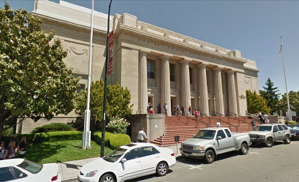 Antioch CA DUI arrests are handled at the Martinez Superior Court House