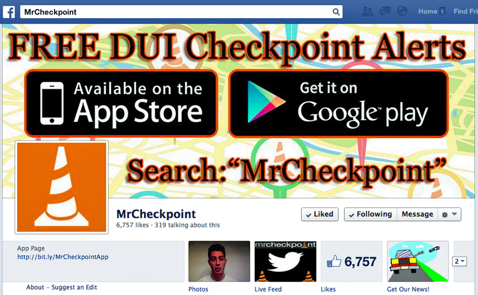 Mr. 20checkpoint facebook