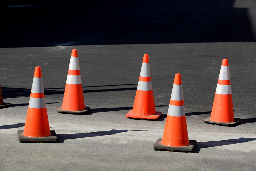 Bigstock orange cones 2815354