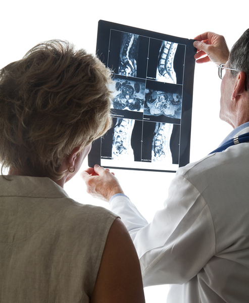 Bigstock doctor and patient reviewing s 4961553