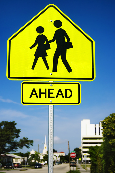 Bigstock an school crosswalk ahead traf 16242236