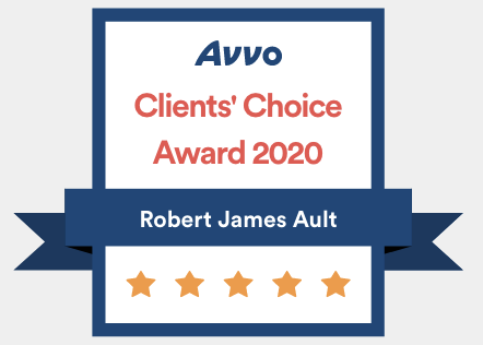 avvo robert ault 2020 clients choice