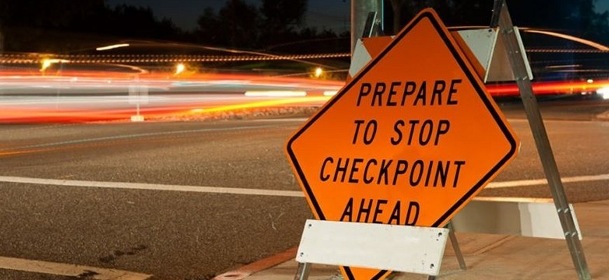 sobriety check point