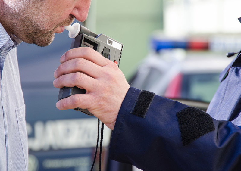 breath test device