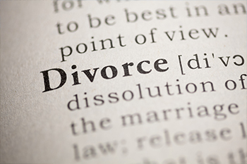 divorce with definition