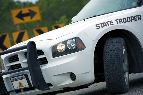 state trooper car