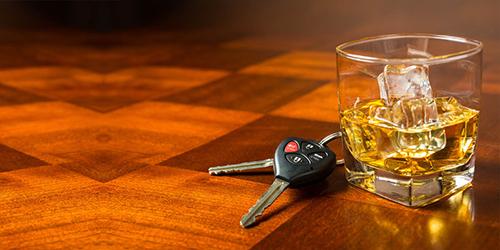 Dwi drink keys