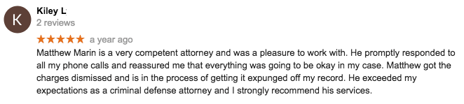 Rhode Island Domestic Disorderly Conduct Former Client Review