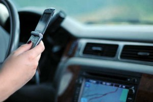 Texting and car accidents  300x199