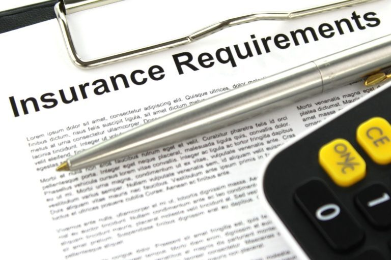 Insurance requirements 768x512