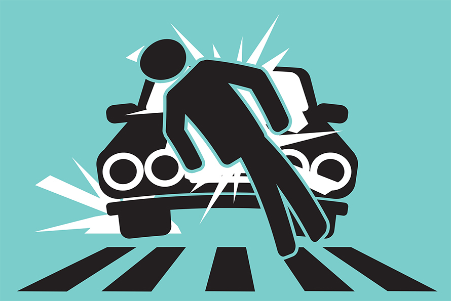 Car-vs-pedestrain