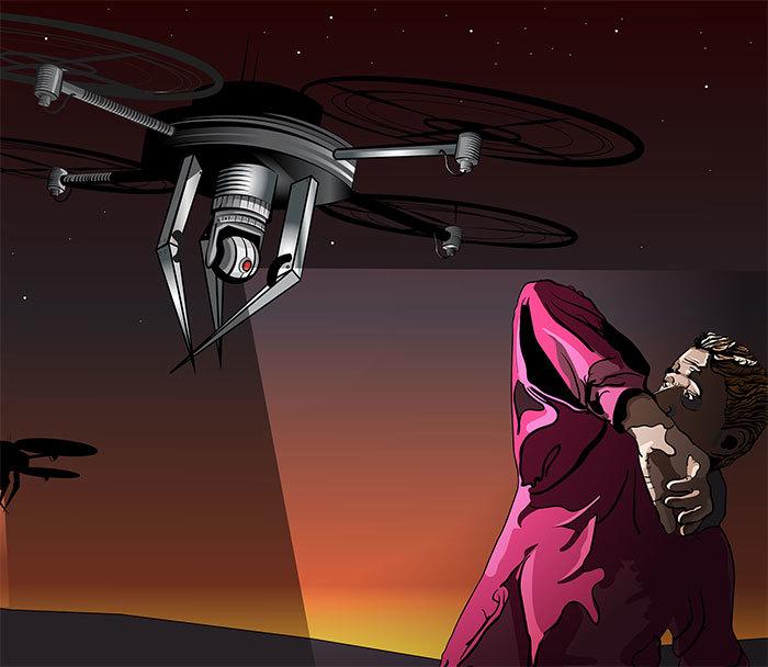 Drone art 1