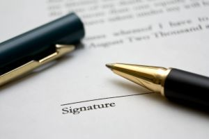 1221952 to sign a contract 31