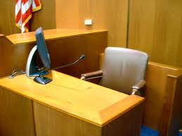 Witness stand