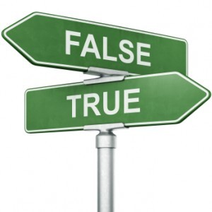 True or false 2