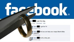 Social media and divorce 300x171