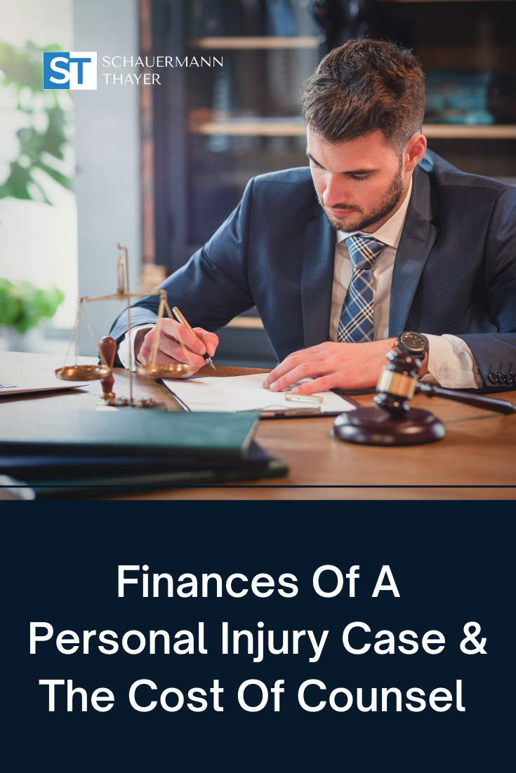 Finances Of A Personal Injury Case & The Cost Of Counsel