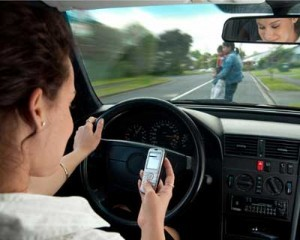 Texting driver 300x240