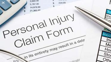 Personal injury claim documentation