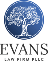 Compressed evans logo dark