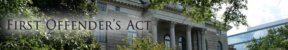 First offenders act header