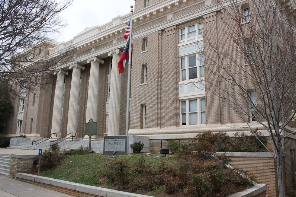 Athens clarke county courthouse