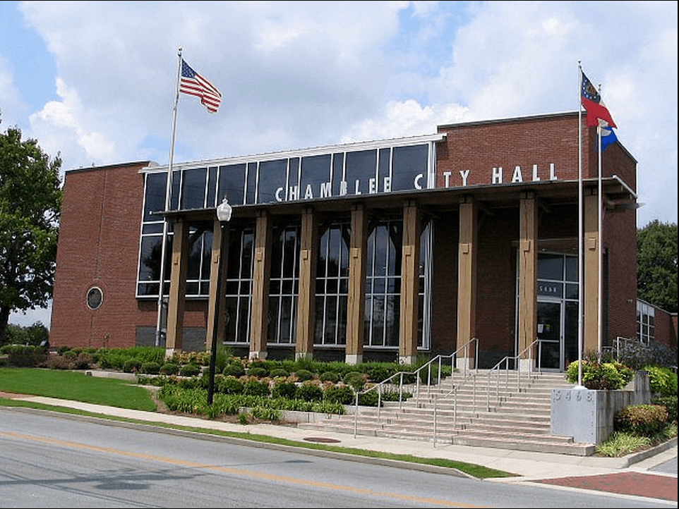 Chamblee-city-hall