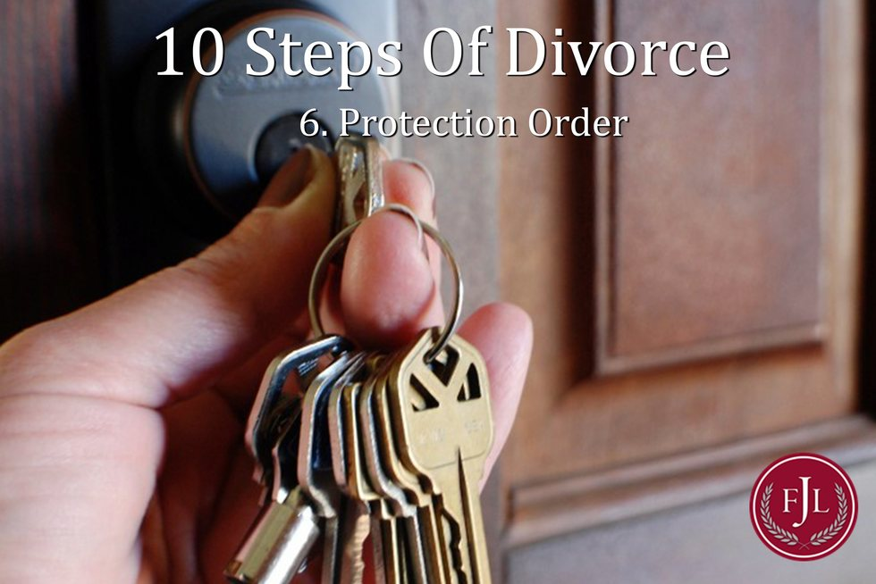 Jerkins Family Law 10 steps to divorce Protection Order