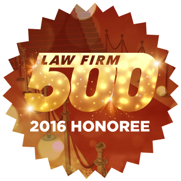 Lawfirm500 website seal