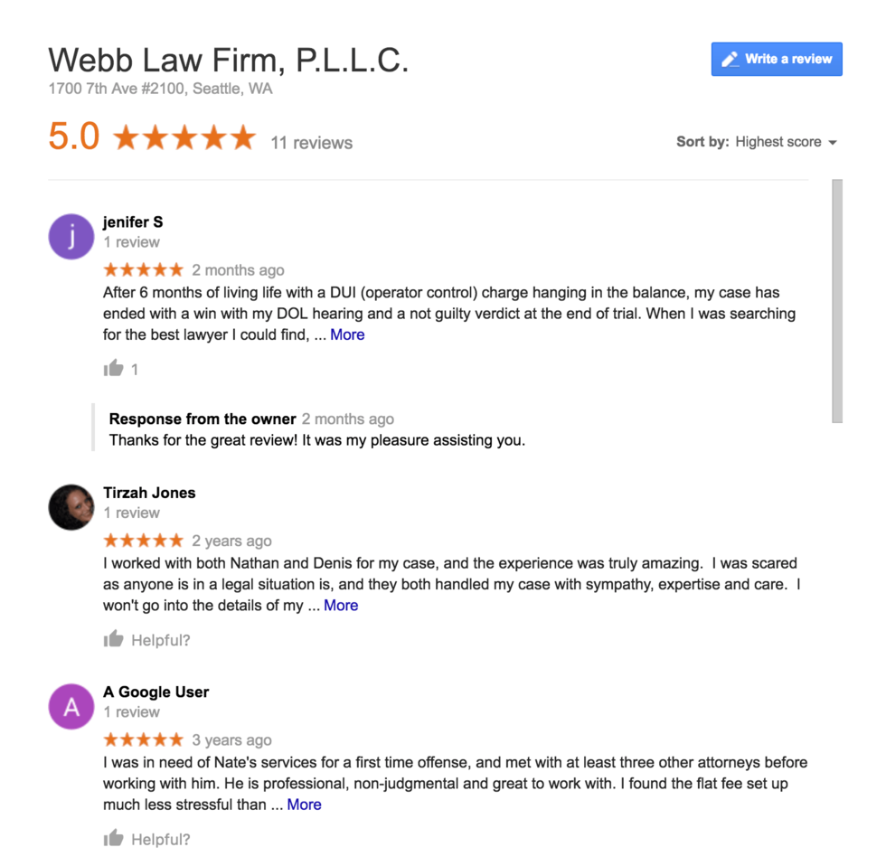 Best Seattle DUI Attorney|Best DUI Lawyers