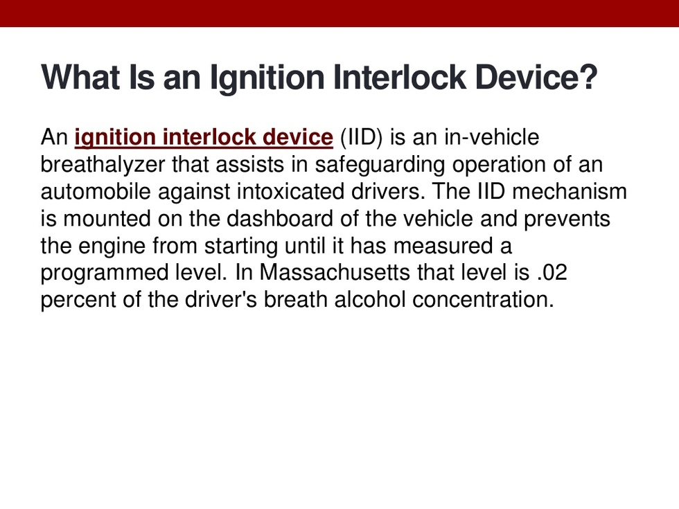 Attorney joseph bernard on ignition interlock devices 2 1024