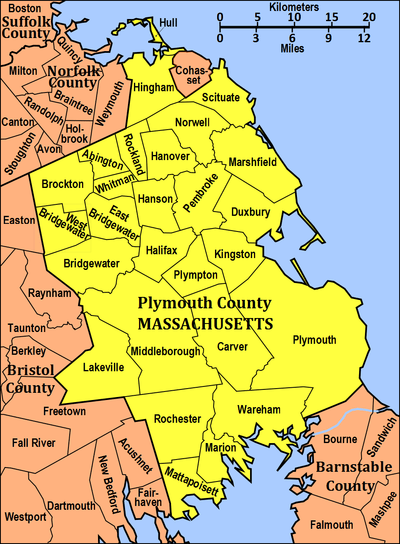 400px towns of plymouth co ma map