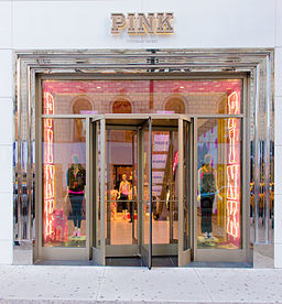 256px victoria's secret pink store nyc  usa