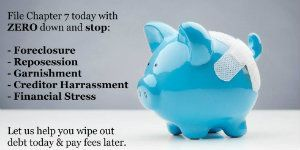 bradenton bankruptcy lawyer - Chapter 7 - piggy bank pic
