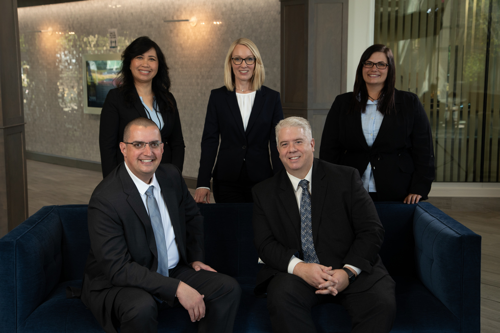 Pictures of attorneys and staff