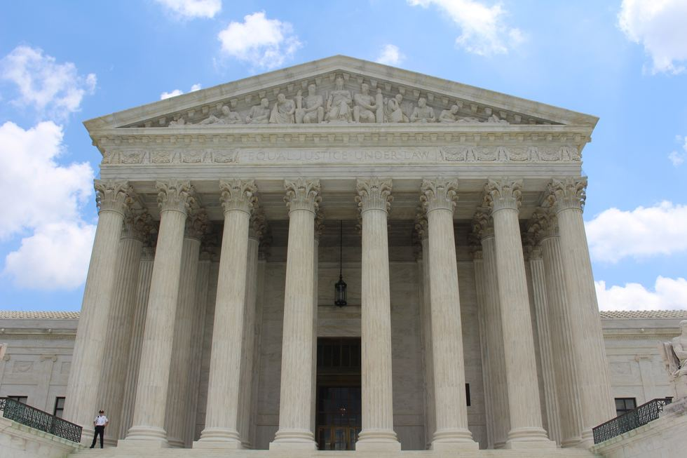 Front of Supreme Court
