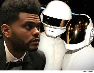0918 the weeknd daft punk insta getty 8