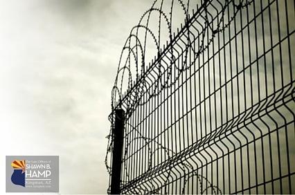 Az felony prison barb wire