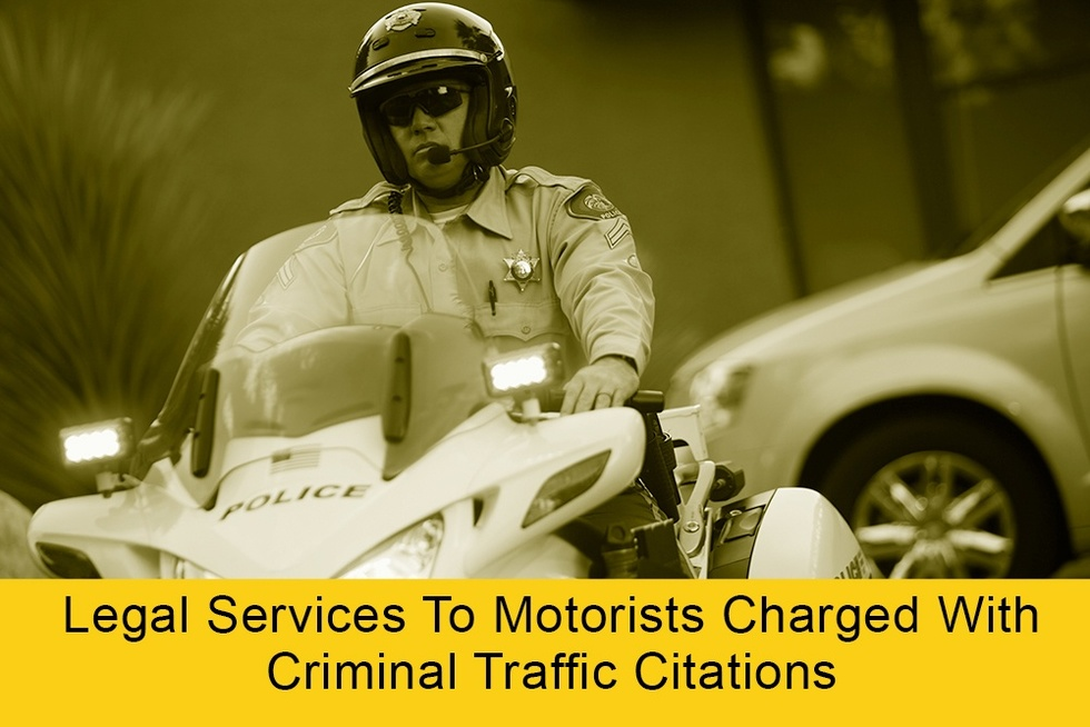 Legal services to motorists