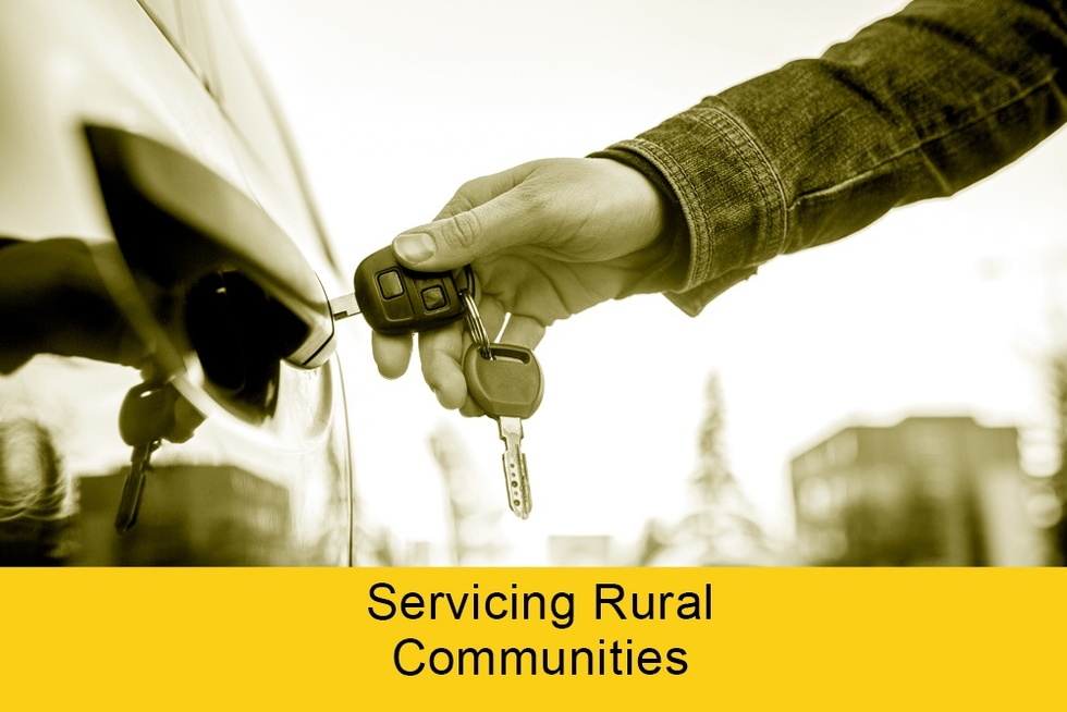 Servicing rural communities