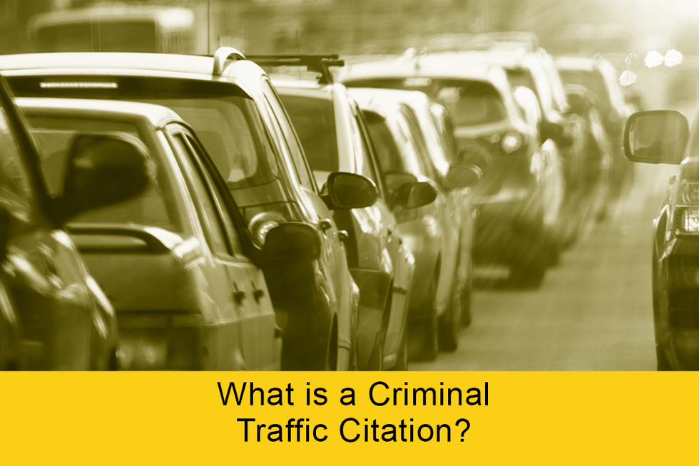 Traffic citation