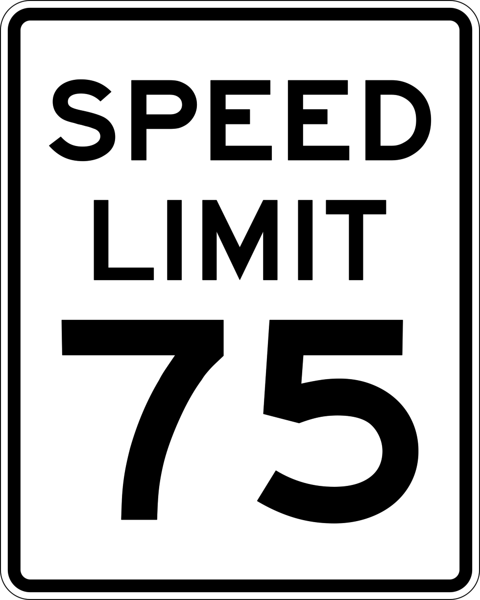 Speeding in 75 mph Zones in Arizona: A Crime Waiting to