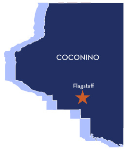 Az map coconino
