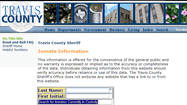 Travis county jail inmate search