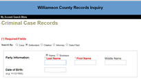 Williamson county court and jail information